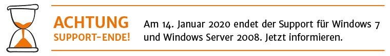 Support Ende Windows 7 und Windows Server 2008